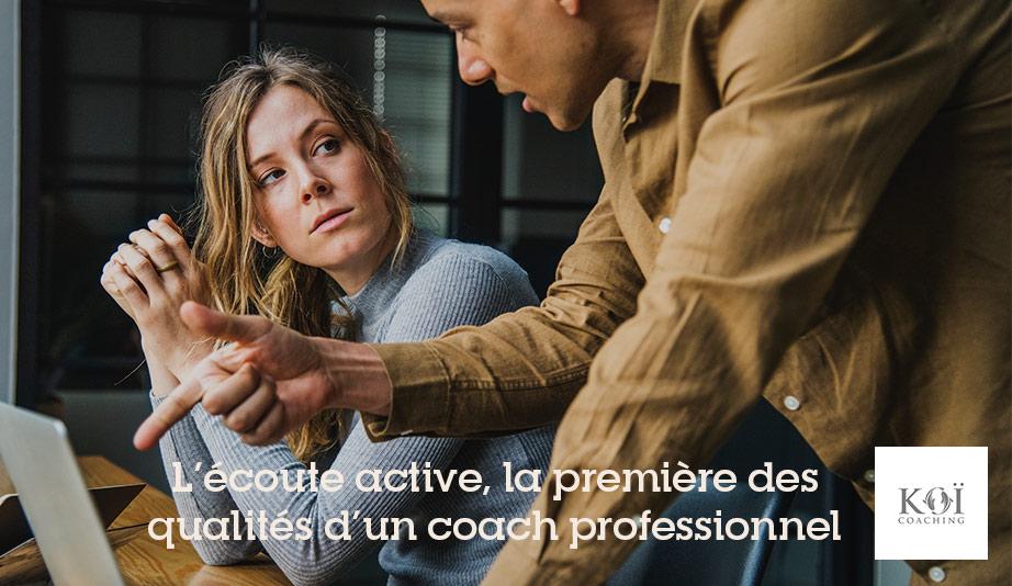 écoute coach professionnel