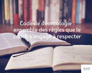 code deontologie coaching