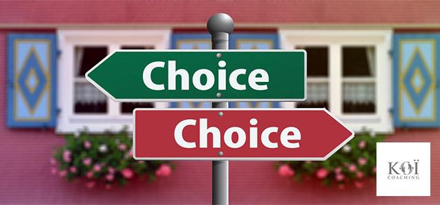 faire un choix