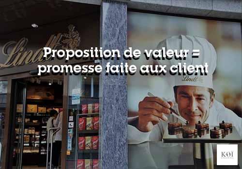 proposition de valeur
